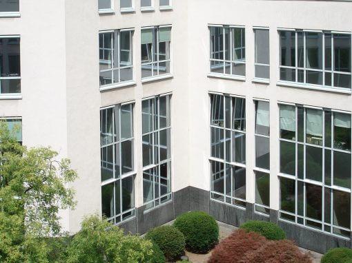 Mieterausbau, Nutzungsaufteilung. Unternehmensberatung, Tricom Center Ratingen.