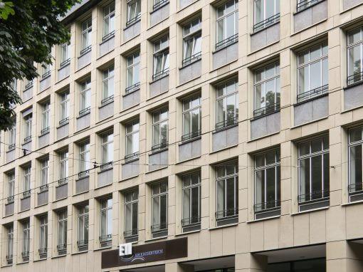 Mieterausbau, Aufzugserweiterung. Gebäudeservice, Düsseldorf.