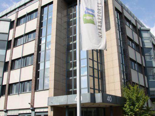 Mieterausbau, Ausbau Halle. Genußmittelhersteller, Düsseldorf.